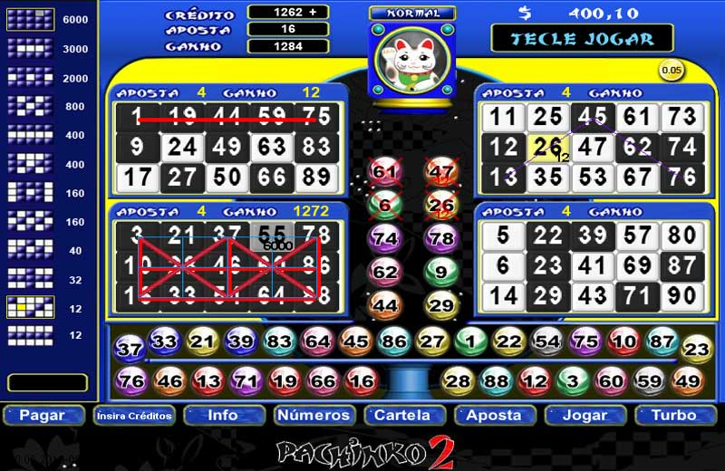 jogo do bingo gratis online