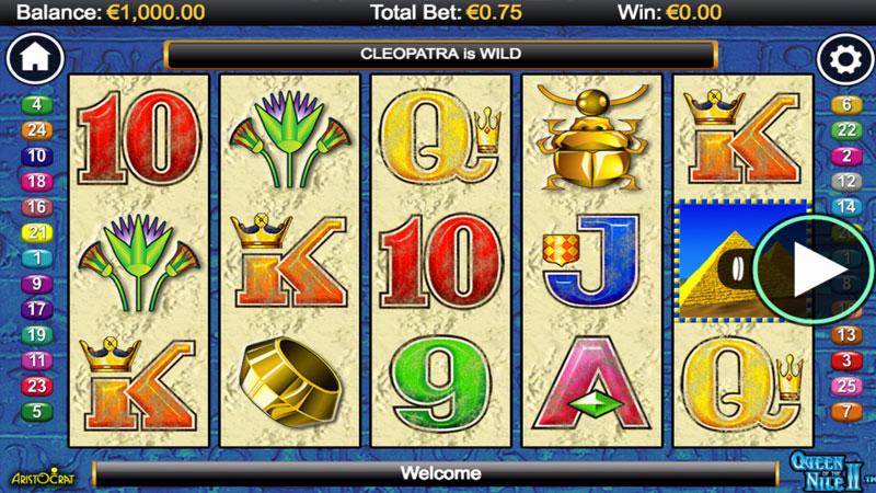 juegos de casino queen of the nile